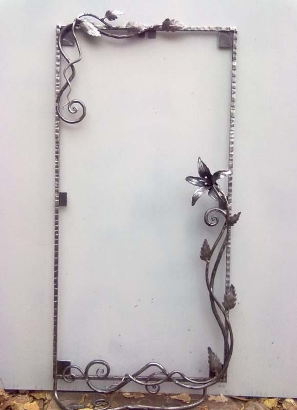 Металлическая рамка для зеркала своими руками
